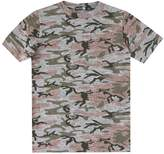 boohoo Boys Washed Camo T-Shirt