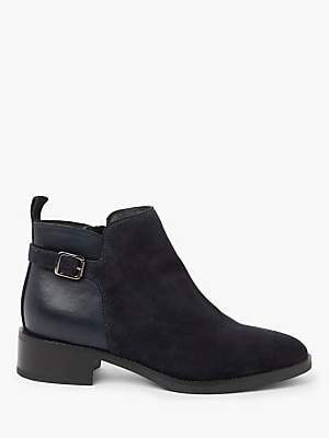 John Lewis & Partners Pallas Leather & Suede Ankle Boots