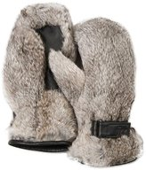 Frr Men's Siberia Rabbit Fur Mittens (S/M, )