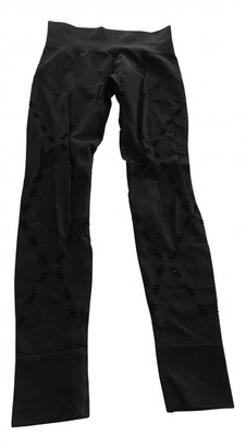 Ivy Park Black Synthetic Trousers
