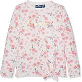Tom Tailor Kids Girl's Flower Patterned Knot Sweat Sweatshirt