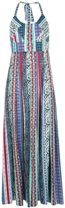 Le Sirenuse Girandola graphic-print maxi dress