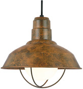 Warehouse Baselite 14 Fixture, Old Copper, Set of 5 - ONE TIME LISTING