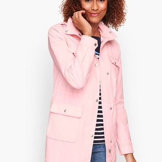 Talbots Drawcord Raincoat