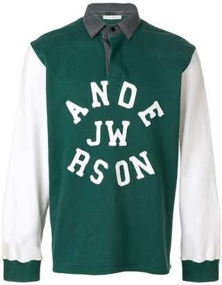J.W.Anderson Rugby Long Sleeve Polo