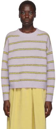 Acne Studios Purple Mohair Khira Sweater