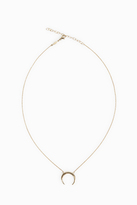 Jacquie Aiche Solid Crescent Necklace