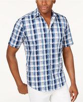 Alfani Men's Plaid Shirt, Only at Macy's