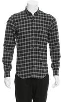 Belstaff Plaid Button-Up Shirt
