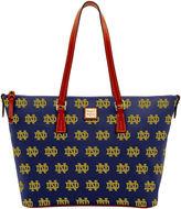 Dooney & Bourke NCAA Notre Dame Notre Dame Zip Top Shopper