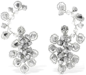 Magda Butrym ANEMONE CRYSTAL EAR JACKET EARRINGS
