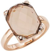 Gerry Weber 138796210580 Ladies'Ring Stainless Steel Glass Crystal 1389938175 taupe taupe