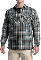 Wolverine Forester Lined Cotton Shirt Jacket - Insulated (For Men)