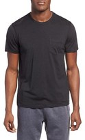 Daniel Buchler Men's Silk & Cotton Crewneck T-Shirt