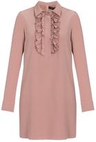 Gucci Ruffle Neckline Shift Dress