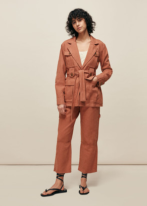 Amenia Belted Utility Jacket
