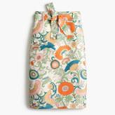 J.Crew Tie-waist skirt in ornate floral