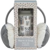 Snowy Owl SNOWY OWL - Warm & Snug Travel Mug & Ear Muff Set