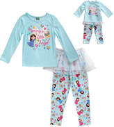 Dollie & Me Blue 'Little Angel' Pajama Set & Doll Outfit - Toddler & Girls