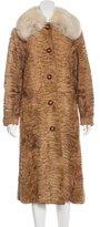 Christian Dior Broadtail Fur Coat