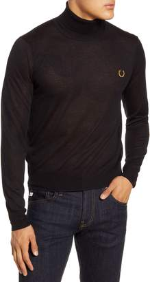 Fred Perry Slim Fit Turtleneck Sweater