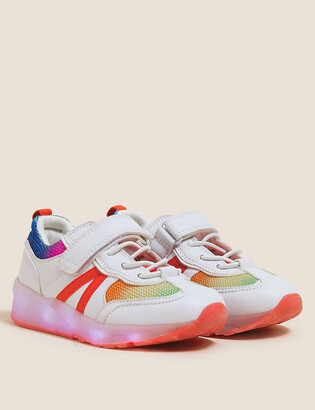 Marks and Spencer Kids' Freshfeet Light-up Trainers (5 Small - 12 Small)