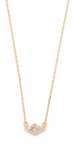 Adina Super Tiny Pave Diamond Necklace