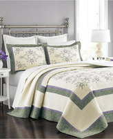 Martha Stewart Collection Valencia Eyelet Queen Bedspread