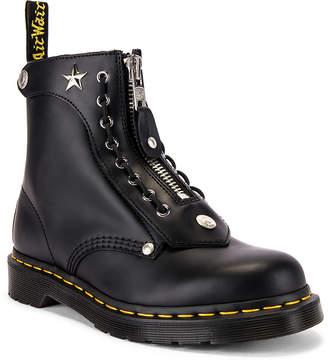 Dr. Martens x Schott1460 8 Eye Boot in Black | FWRD