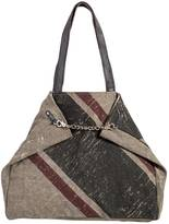 Mona B Canvas Shoulder Bag
