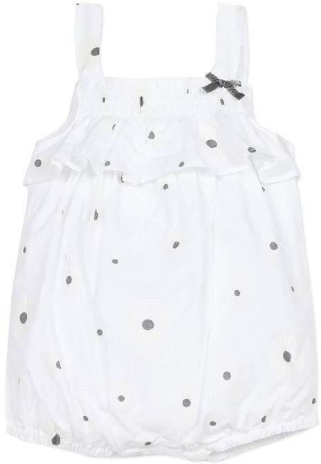Absorba Baby Girl All in One Shortie White