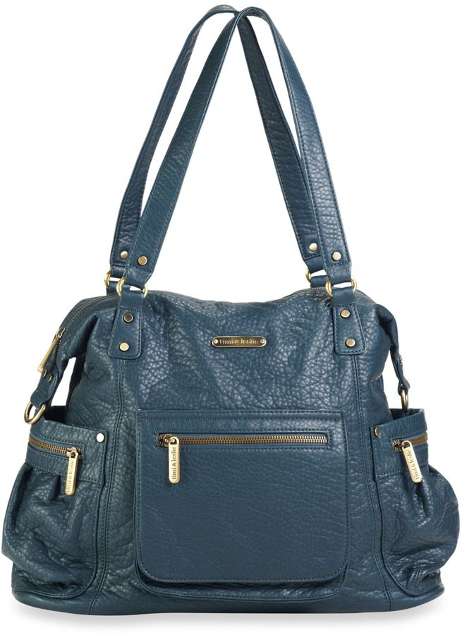 Timi & Leslie 2013 Abby Diaper Bag in Blue