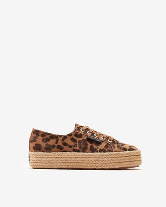 Express Superga Leopard Print 2730 Sneakers