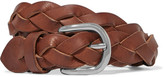 Etoile Isabel Marant Braided Leather Belt - Brown