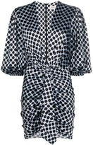Alexandre Vauthier silk polka dot mini dress