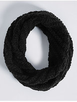 M&S Collection Textured Snood Scarf