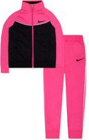 Nike 2-Pc. Tricot Jacket & Jogger Pants Set, Toddler & Little Girls (2T-6X)