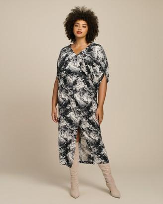 Zero Maria Cornejo Wrap Aki Dress