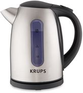 Krups 6-Cup Stainless Steel Electric Hot Water Kettle