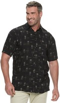 Men's Batik Bay Tropical Shaded Leaf Shirt