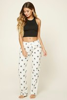 Forever 21 FOREVER 21+ Holiday Dog Graphic PJ Pants