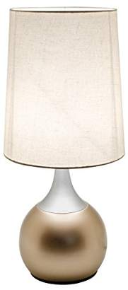 Febland Champagne Colonnade touch Lamp, Metal