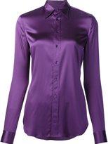 Ralph Lauren classic shirt - women - Silk/Spandex/Elastane - 8