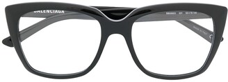 Balenciaga Eyewear Square Glasses