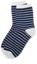 Liana Clothing Lurex Striped Socks