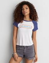 American Eagle Outfitters AE Soft & Sexy Graphic Tomgirl T-Shirt