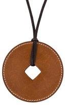 Hermes Tsuba Leather Pendant