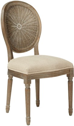 OKA Washakie Linen Chair - Sand