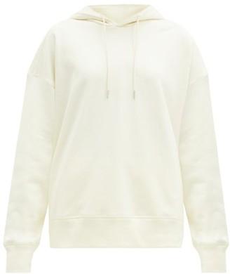 Jil Sander Organic-cotton Jersey Hooded Sweatshirt - Ivory