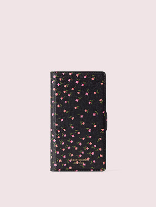 Kate Spade Sylvia Meadow Iphone Xs Magnetic Folio Case